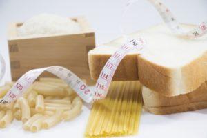 糖質の炭水化物 米とパンとパスタ