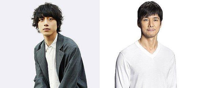 坂口健太郎さんと西島秀俊さん